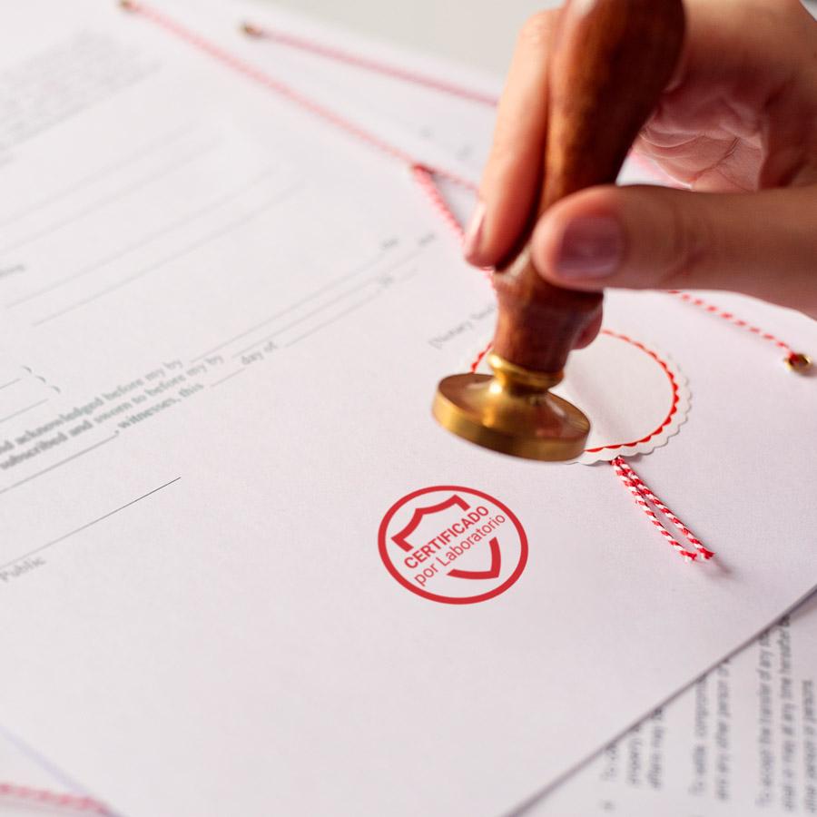 desincash certificación de laboratorio eficacia en desinfección